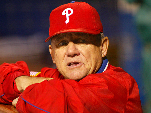 Bowa can intimate players with his demeanor.