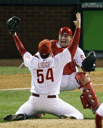 Lidge was lights out in 2008.