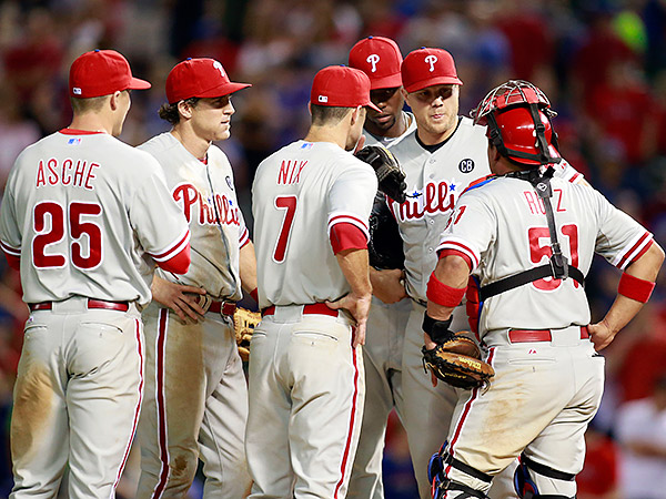 Talking things over on the mound Wednesday night didn't seem to help Papellbon.