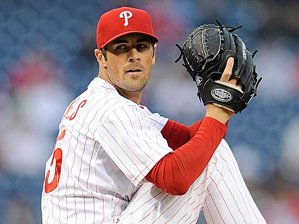 Hamels threw 133 pitches to Papelbon's 21.