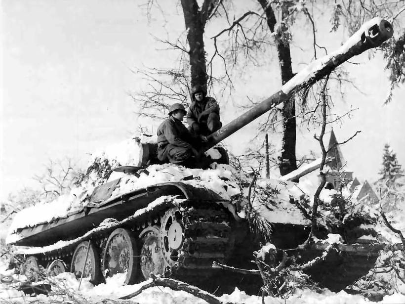 Patton's Third Army sealed the victory at the Battle of the Bulge.