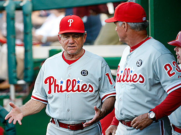 Maybe the good cop-bad cop routine got the Phillies winning.