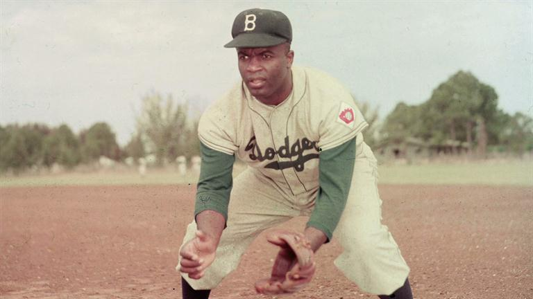 Jackie Robinson paved the way for African Americans in baseball.